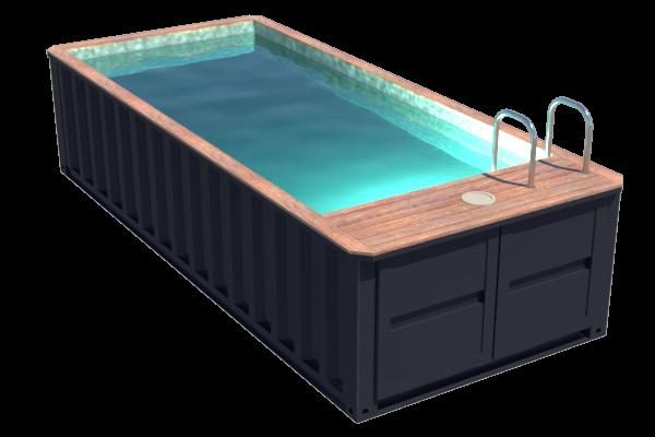 Piscine container tiny pool 6 mètres